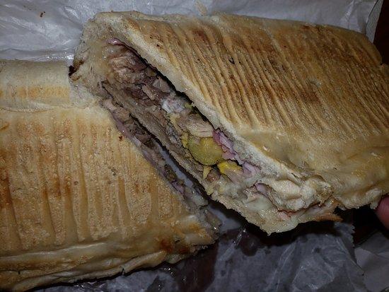 Dennys Latin Cafe: Cuban Sandwich