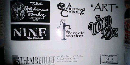 Theater Three: Theatre Three schedule 2018-19