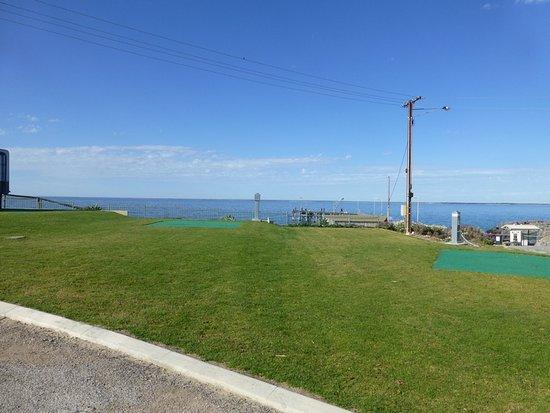 Point Turton, Australia: view towards jetty