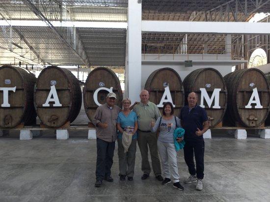 Get2Peru.com: visiting Tacama Vineyard sampling tour