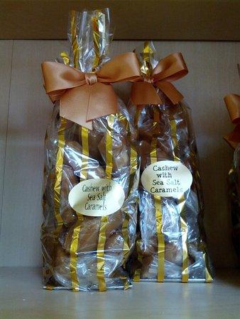 Sumner, WA: Caramels @ Ciarrai Jeanne candy store
