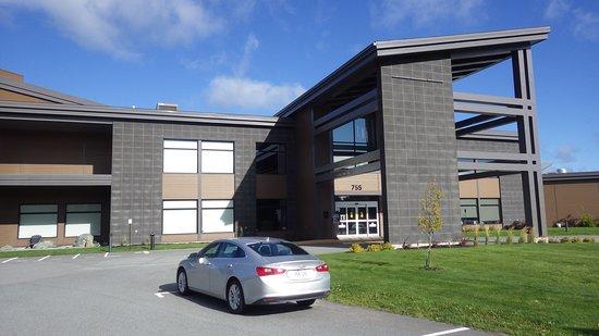 Thetford Mines, Canada: Façade l'hôtel