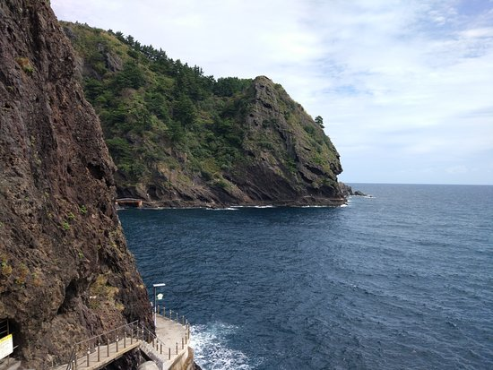 Ulleung-gun, Sydkorea: Haengnam Coastal walking path
