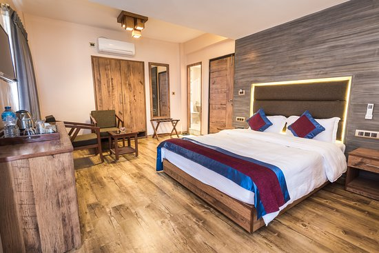 Shivapuri National Park, Nepal: Villa Deluxe room with a/c
