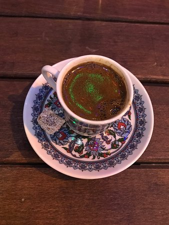Port Loca Karakoy: Turkish coffee- so yummy. Recommend having it w/milk if you can't handle the strong coffee like