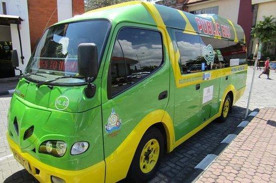 Passe de ônibus de 7 dias para o Bali...