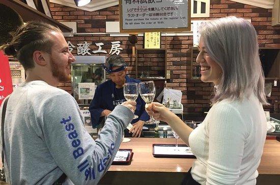 Dégustation de saké dans les...