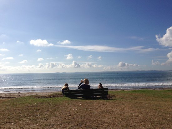 Browns Bay, Nieuw-Zeeland: Just sitting and enjoying the view