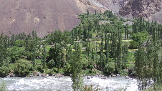 Phander, Pakistan: River view