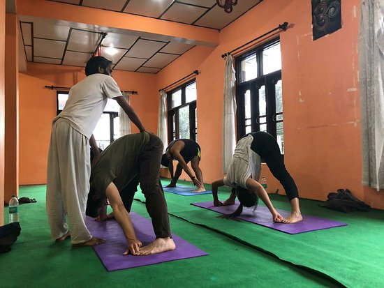 Yoga with Raj: Hatha yoga class
