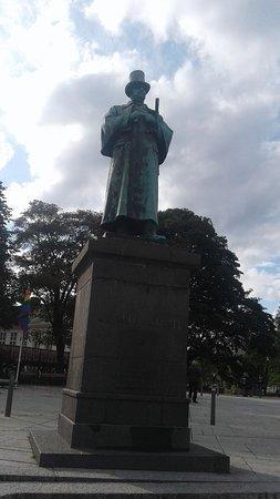 Statue of Alexander Kielland