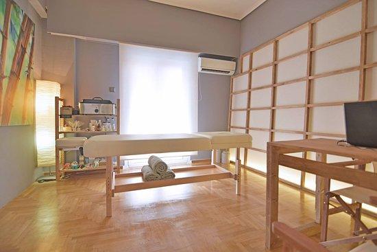 Nea Smirni, Grecia: Massage room