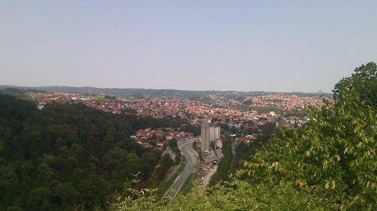 Valjevo, Serbia: Punto panoramico