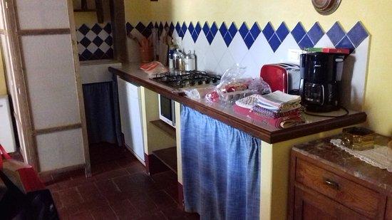 Montalla, Italy: Kitchen