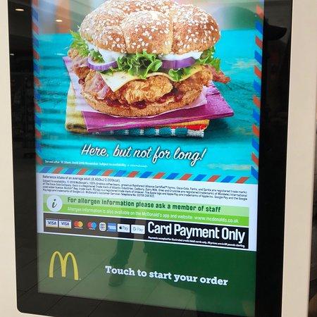 Tibshelf, UK: McDonalds