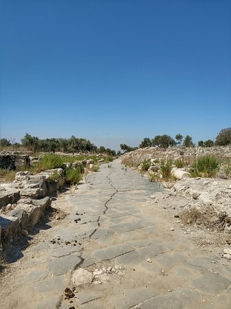 Umm Qais, Jordan: Paved Road - Close to the end