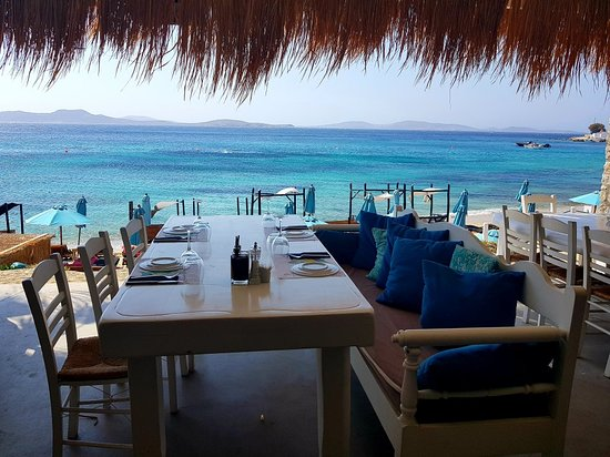 Ultimo pranzo a Mykonos