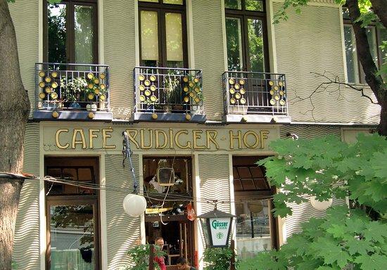 Jugendstil Ornamente Picture Of Cafe Rudigerhof Vienna Tripadvisor