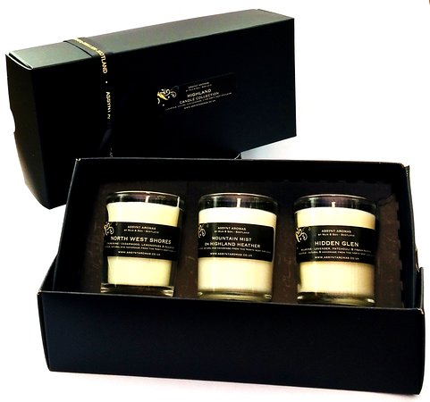 Drumbeg, UK: Highland Candle Collection by Assynt Aromas