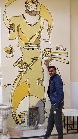 Alsisar, อินเดีย: Artistic