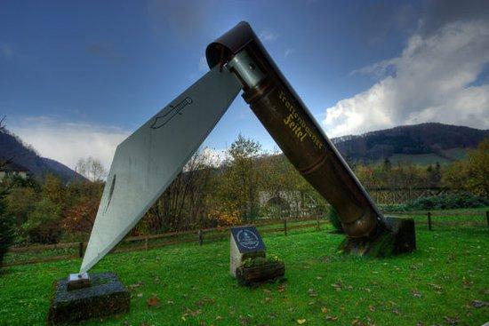 Ternberg, Austria: Der Weltrekord Taschenfeitel, der erste Punkt bei einem Besuch