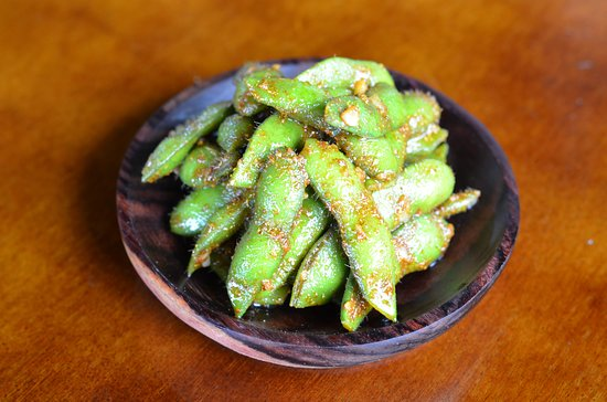 Garlic Butter Curry Edamame , healthy and tasty appetizers