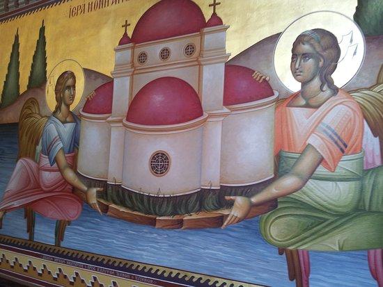 Jerusalem District, Israel: Chiesa greco ortodossa dei 12 apostoli. Spettacolare