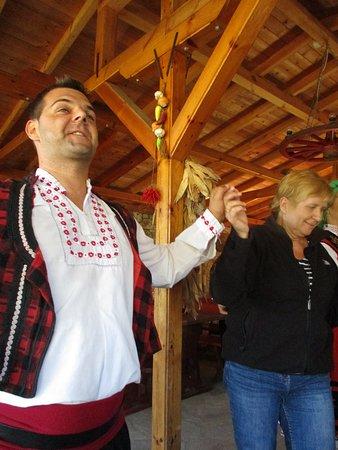 Balgarevo, Bulgarije: Bräutigam bei Bauernhochzeit