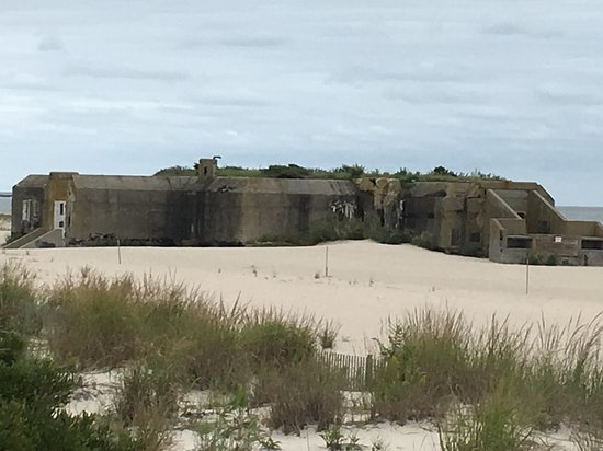 Cape May Point, NJ: WW II Bunker