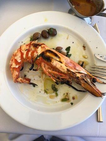 Restaurante Mar do Inferno: Camarões tigre