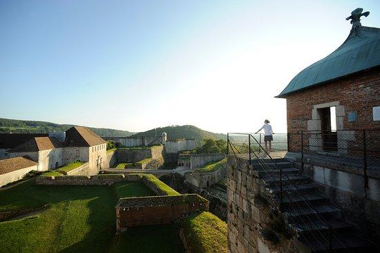シタデール城壁跡