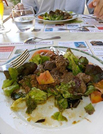 Chalabre, ฝรั่งเศส: The Ducks Liver Starter