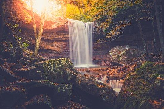 Laurel Highlands, PA: Take a short hike to Cucumber Falls