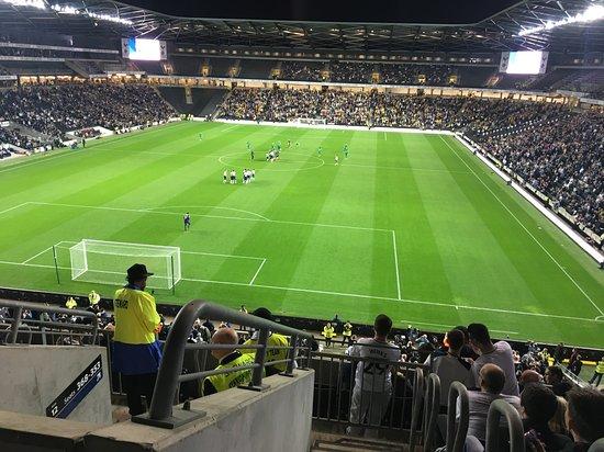 Stadium mk: TOTTENHAM V WATFORD - COWSHED END