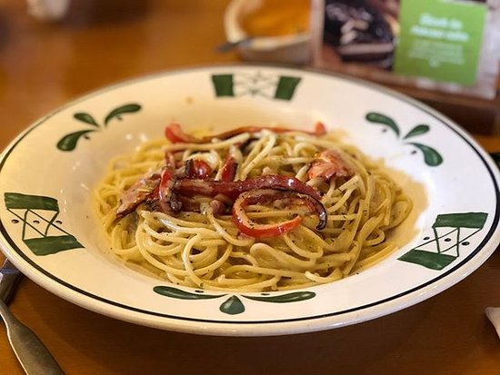 Olive Garden: Pasta carbonara