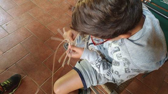 Rifugio I Diacci : Laboratorio di cesteria