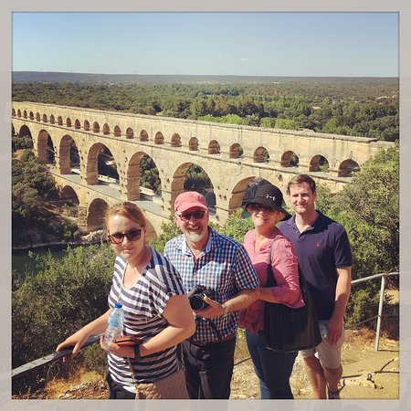 Terroirs Tours: A tailored day spent wine tasting, seeing Uzes and visiting the Pont du Gard for this fun family