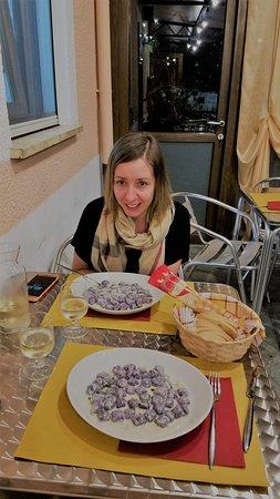 St. Christophe, Italy: gnochetti