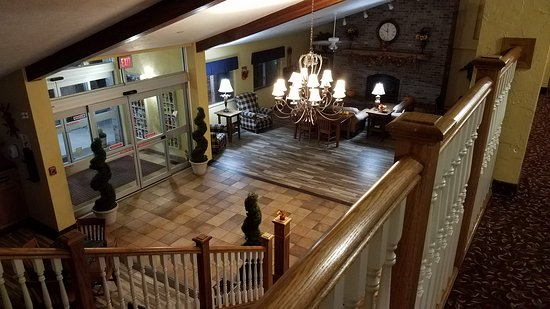Republic, MO: View of lobby from 2nd floor