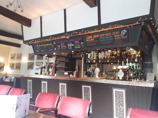 Wooler, UK: The bar