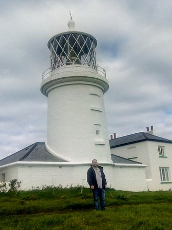 Lighthouse on Caldey Island