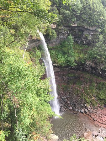Kaaterskill Falls: From viewing platform
