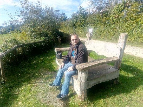 Manor Wildlife Park: One of the many teeny tiny seats!