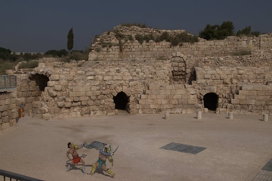 Zentraldistrikt, Israel: Internal view of amphitheater