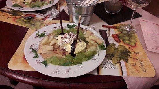 Kinheim, Germany: Vanavond een heerlijk verrassingsdessert gegeten!