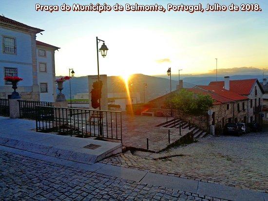 Praca jardim municipal de Belmonte