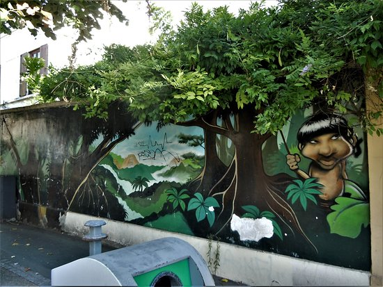 Fresque La Jungle 3