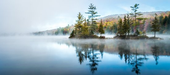Groton, Vermont: It's that time of the year again! There are plenty of great spots around New England to capture the Fall foliage. One of my favorite spots is Ricker Pond in Vermont.