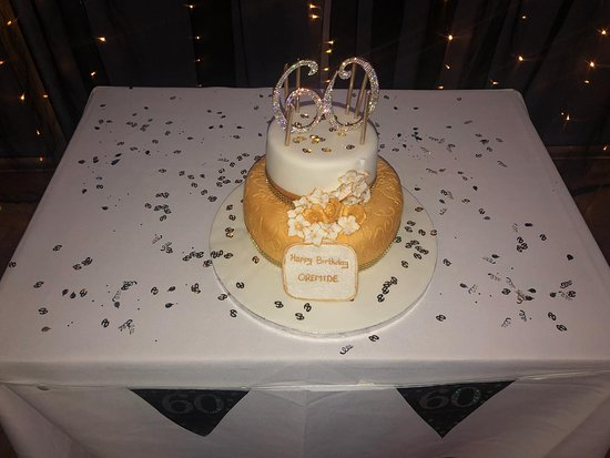 Ayannas London My 60th Birthday Cake