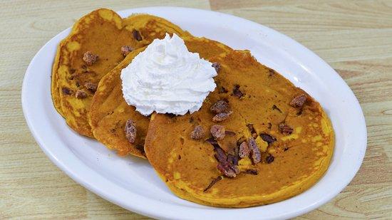 Hinsdale, IL: Pumpkin Pancakes